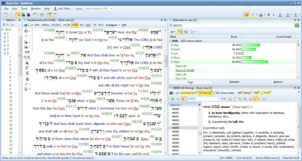theWord Bible Software - The Messianic Light