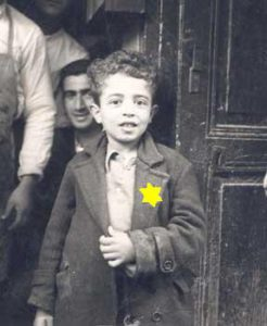 Boy with Yellow Star on Jacket