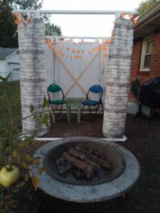 Sukkah during the day