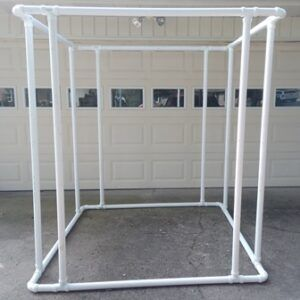 Assembled Sukkah Frame